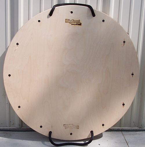 Large Wooden Circular Outrigger Pad